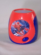 "Blip Toys SPIDER-MAN multi-colored light image projector, approx. 3"" tall - $5.96"