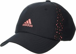 Adidas FJ4827 Women's PERFORMANCE PERFORATED Golf HAT Black - $69.97