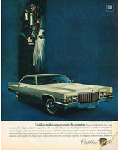 Vintage 1970 Magazine Ad Cadillac Makes Any Occasion The Occasion - $5.93