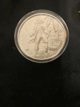"""The Captain"" Privateer Series 2 oz .999% Fine Silver Art Round - $98.99"