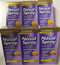 Nasal Spray GoodSense 12 Hour Relief Extra Moisturizing 6 PK 1 OZ - $15.88
