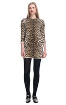 NEW 3.1 Phillip Lim Animal Leopard French Cotton Terry Sculpted Sweater ... - $4.663,02 MXN