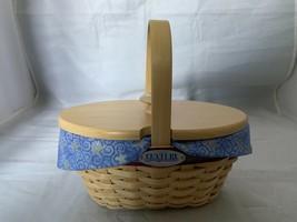 Longaberger 2000 Century Celebration Hostess Appreciation Basket Como Li... - $28.04