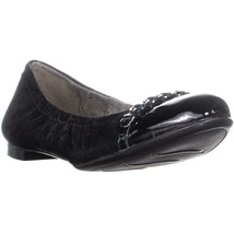 Naturalizer Oriel Slip On Ballet Flats, Black Leather, 9.5 US - $44.44