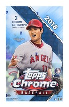 2018 Topps Chrome Baseball Hobby Box - Factory Sealed! - $160.00