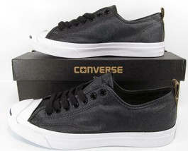 Converse Jack Purcell JP JACK OX Nylon BLACK Lunarlon Sole 151483C (8.5 ... - $59.50