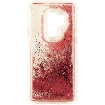 Case-Mate Waterfall Case for Samsung Galaxy S9+ (Plus) - Clear/Pink Glitter - $8.75