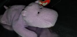 """TY """"Happy"""" the Hippo Teenie Beanie Baby - $148.00"""
