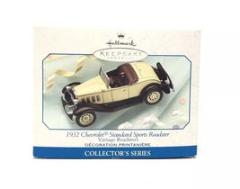 Hallmark 1932 Chevrolet Standard Sport Roadster 1999 Keepsake Ornament New - $9.72