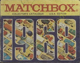 Vintage Matchbox Collectors Catalogue USA Edition 1968 Fred Bronner New ... - $19.55