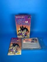 Light Fantasy (Super Famicom, 1992) Nintendo Japan Import, CIB Complete,... - $36.67