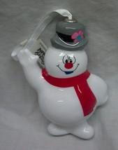 "FROSTY THE SNOWMAN 4"" HALLMARK CHRISTMAS HOLIDAY ORNAMENT NEW - $14.85"