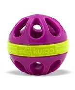 Kurgo Dog Toy Mini Wapple(TM) Ball For Small Dogs, Just Violet Purple - £11.27 GBP