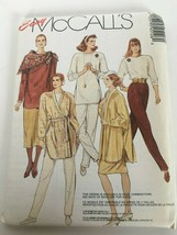 "Easy McCalls Sewing Pattern 4512 Jacket Tops Skirts Pants 1988 22 24 Bust 44"" UC - $6.30"