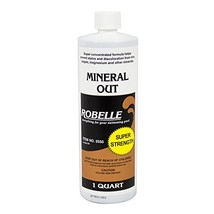 Robelle 2550 Mineral Out Stain Remover for Swimming Pools, 1-Quart - $15.36