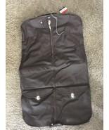 Vintage American Tourister 1085 Walnut Garment Bag In Original Box - $41.99