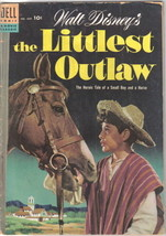 the Littlest Outlaw Four Color Comic #609 Dell 1954 VG- - $9.74