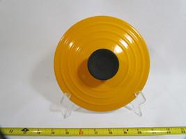 """Le Creuset France Orange Cast Iron Lid for Sauce Pan Pot 6.75"""" - $18.90"""