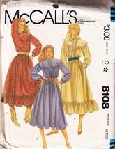 WESTERN DRESSES - Vintage 1982 McCall's Pattern #8108 Petite Size 6-8 - $12.00
