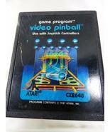 VTG 1981 Video Pinball Atari 2600 Video Game System cartridge - $14.85
