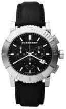 Burberry BU2306 Endurance Men's Black Leather Strap - $371.80