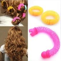 Hair Roller Curler Woman Plastic Curling Hair Tool Girl Rollers Curls Set 16 pcs - $9.40