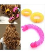 Hair Roller Curler Woman Plastic Curling Hair Tool Girl Rollers Curls Se... - $9.40