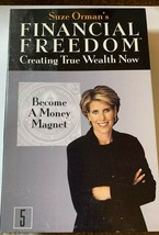 Suze Ormans Financial Freedom Creating True Wealth Now No. 5 Cassette Tape - $4.94