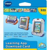 NEW! VTech Learning Application Download Card-InnoTab, MobiGo, and V.Read!! - $9.89
