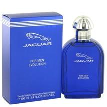 Jaguar Evolution by Jaguar Men's Eau De Toilette Spray 3.4 oz - 100% Authentic - $24.70