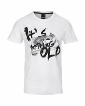 Bench Getting Old Urban Streetwear Men's White T-Shirt NWT image 1