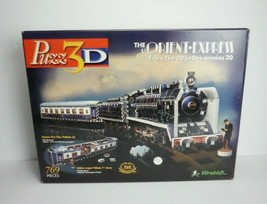 PUZZ 3D The Orient Express from the 20's Train #49043 769 pieces HASBRO - $39.00