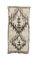 "AZILAL Vintage Moroccan Rug, 2'11"" x 6'4"" / 90 x 192 cm - $475.00"