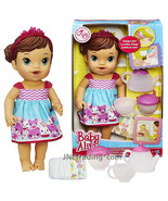 Year 2014 Baby Alive 12 Inch Doll Set - Hispanic TEACUP SURPRISE BABY - $59.99