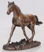 Trot Horse - Horse Figurine - Realistic Bronze * Free Shipping Everywhere *  - $78.21