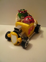 MM M&M's Rebel Without a Clue Hot Rod  W/ Flames Car Candy Dispenser Ret... - $14.85