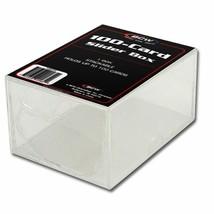 Capucha (100) BCW 2 Piece Dispositivo Deslizante Cajas - 100 Conteo (Ct ) - $104.22