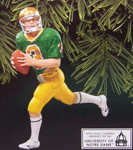 Hallmark 1998 Football Legends Joe Montana Notre Dame Ornament - $14.95