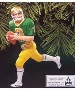 Hallmark 1998 Football Legends Joe Montana Notre Dame Ornament - $14.95