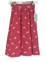 Cat&Jack Girls Magenta Pink Unicorn Printed Long Skirt Size 4-5 - $19.79