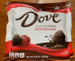 Dove Promises Dark Chocolate Candy Bag, 8.46 Oz - $12.59
