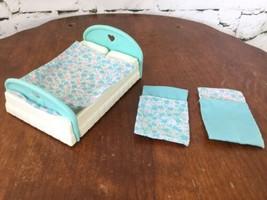 Vintage Fisher Price Parents Bed W Blanket - $13.86