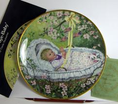 ROCKABYE BABY Porcelain Plate KAISER Neubacker D8183 Box COA Collectible - $18.86