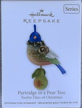 2011 Hallmark Keepsake Ornament Partridge in a Pear Tree 1st in Series D... - $47.95