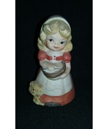 VERY RARE - Porcelain / Ceramic Jasko Bell...Maiden Girl....1978  (4250.17) - $15.00