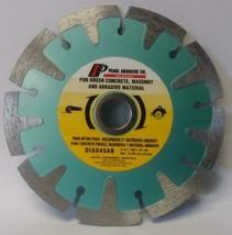"Pearl Abrasive Co DIA045AB 4-1/2"" Segmented Diamond Blade Japan - $29.70"