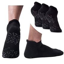 Men's Non-Slip Yoga Socks, Anti-Skid Pilates, Barre, Fitness Hospital Slipper So