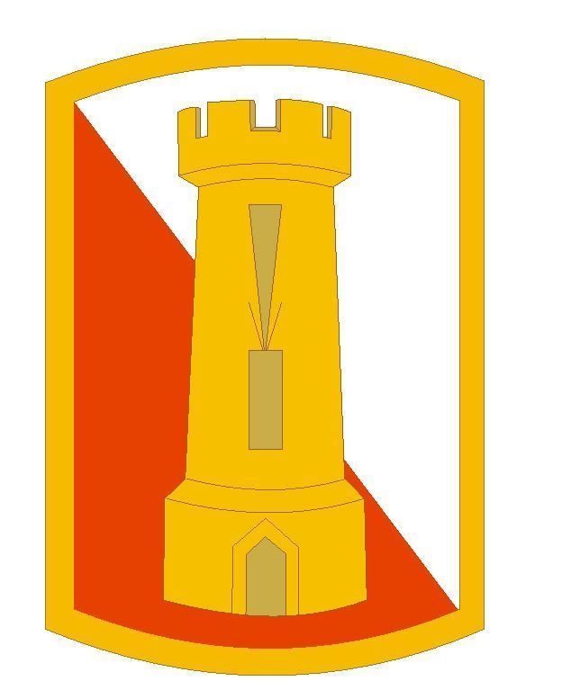 168th Engineer Brigade Sticker Military Armed Forces Sticker Decal M108 - $1.45 - $9.45