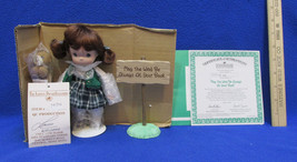 Ashton Drake Colleen Doll Sign May The Wind Be Always At Your Back NOS - $24.74