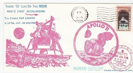 THERE IS LIFE ON THE MOON APOLLO 11 COLORADO SPRINGS CO JUL 20 1969 #19/... - $3.98